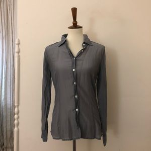 J. Crew Silk Button Up Blouse
